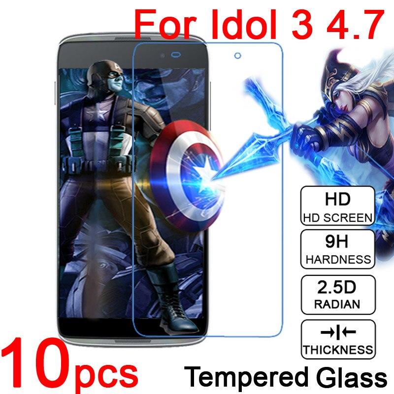10pcs 0.26mm 9H LCD Tempered Glass Film For <font><b>Alcatel</b></font> OneTouch <font><b>IDOL</b></font> 3 <font><b>4</b></font> 4S OT 6039Y 6045 6055 6070 <font><b>4</b></font>.7&#8243; 5.2&#8243; 5.5&#8243; Screen Protector