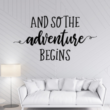 Drop Shipping adventure begins Wall Sticker Removable Living Room Children Decoration  Murals