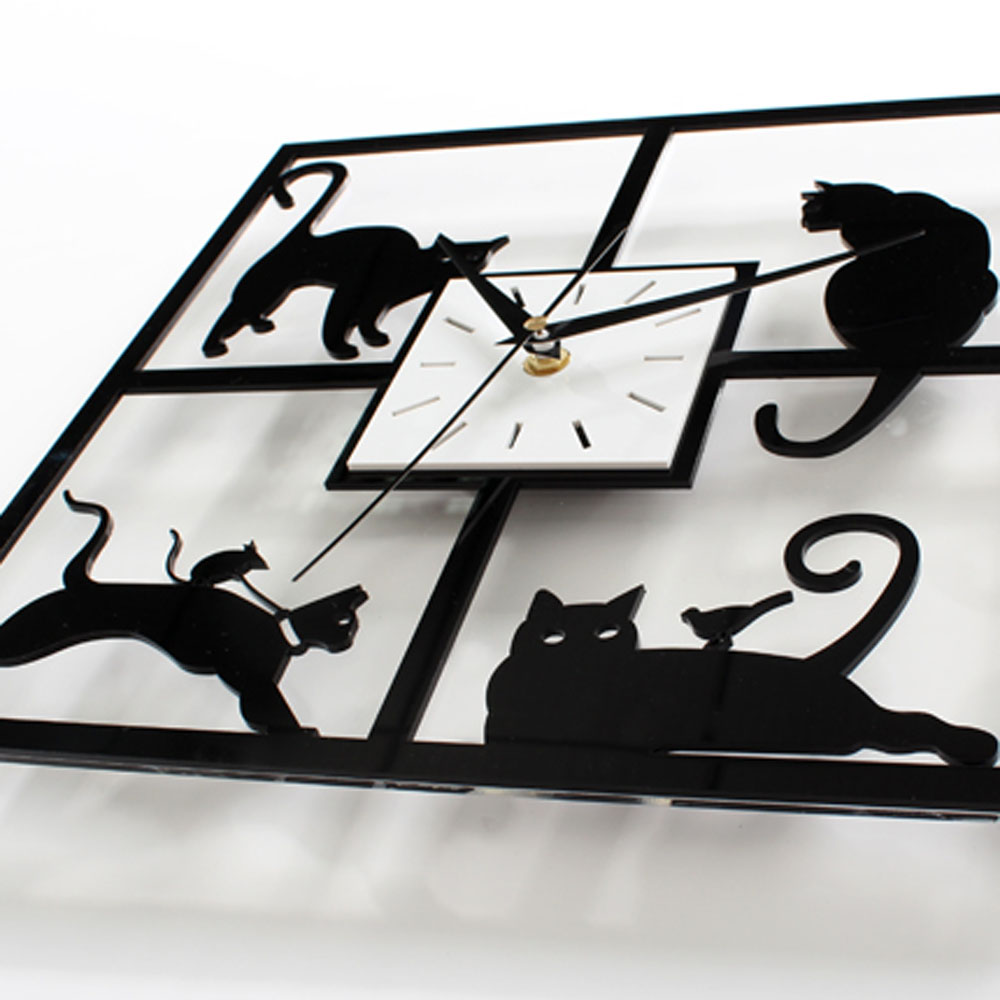 Black cat wall clock choice image home wall decoration ideas black cat wall clock gallery home wall decoration ideas black cat wall clock images home wall amipublicfo Gallery