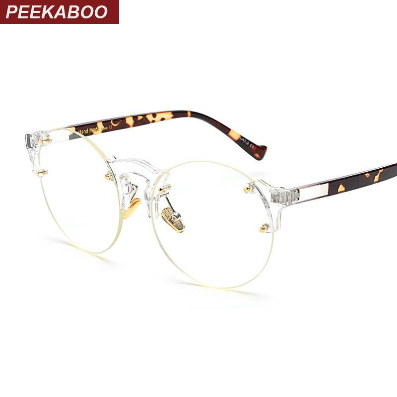 Popular Rimless Round Eyeglasses-Buy Cheap Rimless Round ...