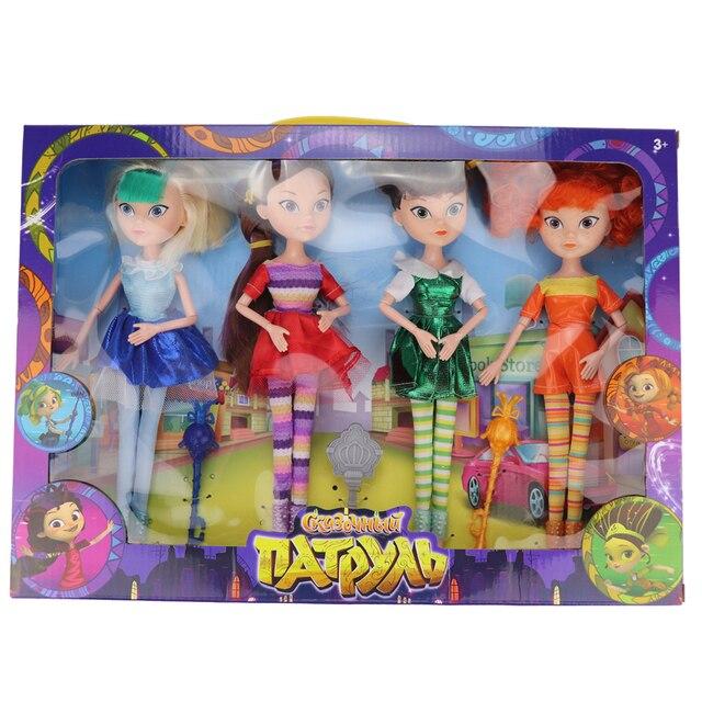 (Jimusuhutu) 4 шт./лот, новый стиль, сказочный патруль, Высокая Кукла MAWA BAPR, модные куклы, игрушки для девочек, лучший подарок Monster Fun