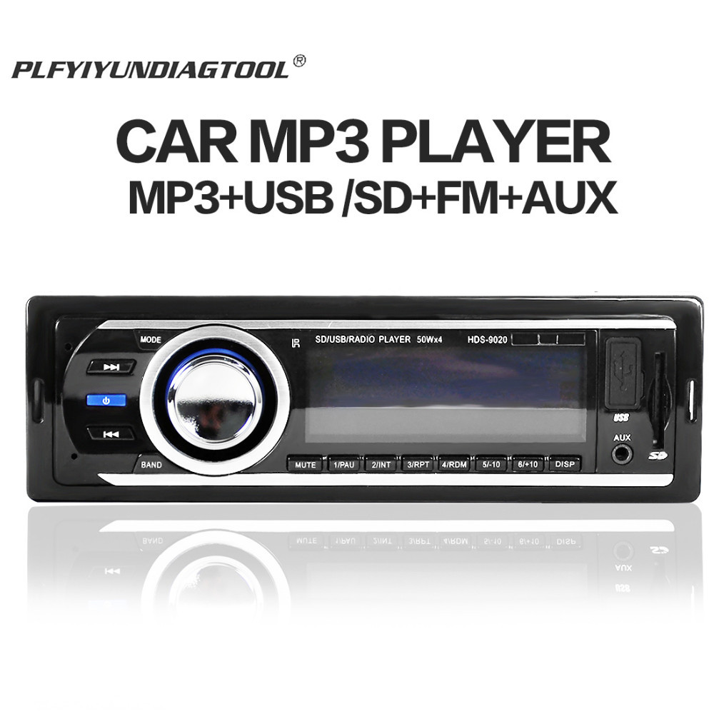 Universal 1 Din car stereo mp3 player FM modulator Transmitter Radio USB Automobiles Audio Player automotive sound <font><b>quick</b></font> <font><b>charge</b></font> image