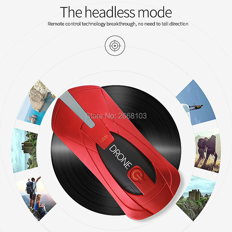 Portable JY018 Mini Selfie Drone Foldable Helicopter Pocket Folding Altitude Hold Headless WIFI FPV Camera RC Quadcopter VS H31 1
