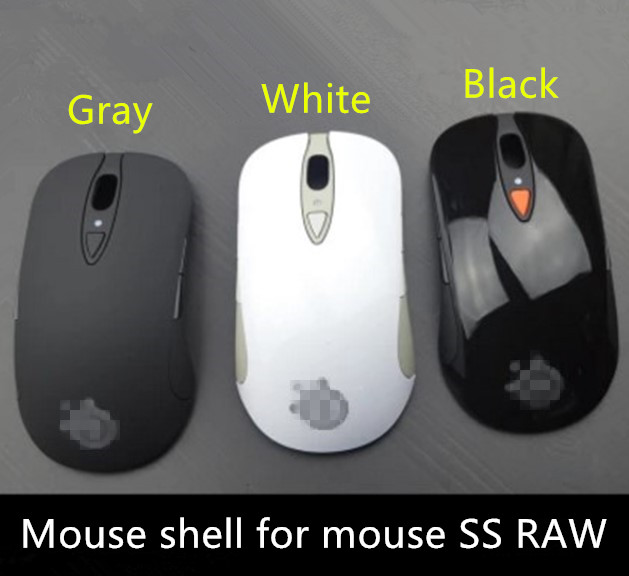 Top-Shell Mouse-Accessories Sensei Steelseries Original New for New-Edition Raw-Frostblue/heat-Orange