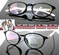 Plaza del diamante marco de diseño de moda negro Por Encargo lentes ópticas gafas de Lectura + 1.0 + 1.5 + 2.0 + 2.5 + 3.0 + 3.5 + 4.0 + 4.5 + 6