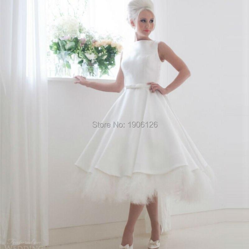 Online Get Cheap Short Feather Wedding Dress -Aliexpress.com ...