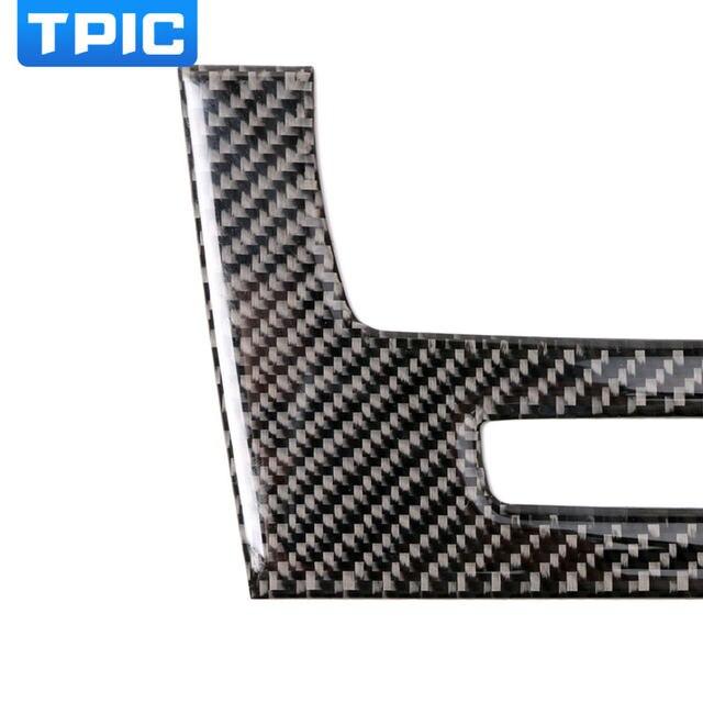 voor bmw e90 koolstofvezel strip airconditioning cd panel decoratieve cover trim auto interieur accessoires auto styling 3d sticker