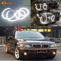 For BMW E66 E65 750I 750LI 2006 2007 2008 XENON HEADLIGHT Excellent Led Angel Eyes Ultra