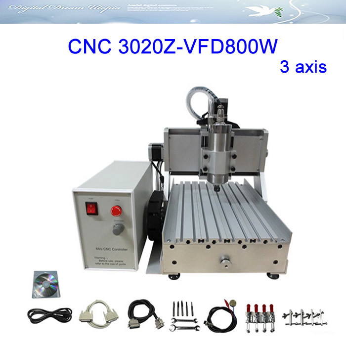 3axis CNC Router LY 3020Z-VFD800W Engraving Machine ,cnc cutting machine,FREE TAX! 3axis mini cnc router ly cnc3020z vfd1 5kw engraving machine with sink cnc cutting machine