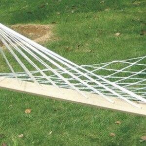 Image 4 - في الهواء الطلق التخييم المحمولة أرجوحة شخص واحد شبكة حبل نايلون الأرجوحة داخلي الأطفال الترفيه أرجوحة