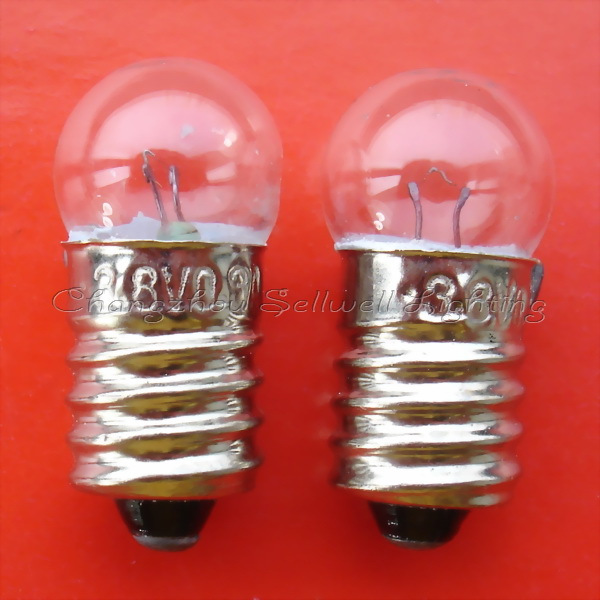 Miniature bulb small 3.8v 0.3a e10 a537 sellwell lighting
