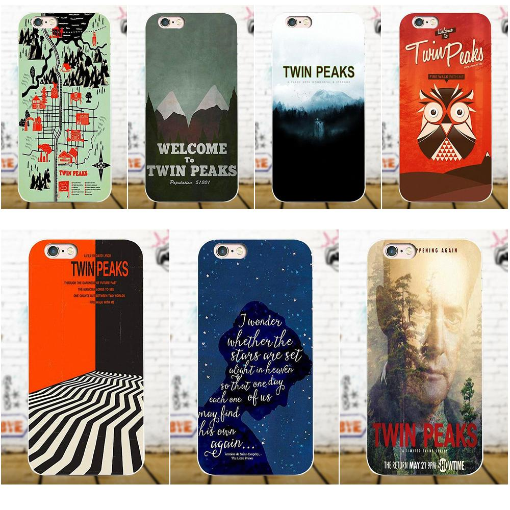 Soft New Style Welcome Twin Peaks For Apple iPhone 4 4S 5 5C 5S SE 6 6S 7 8 Plus X For LG G3 G4 G5 G6 K4 K7 K8 K10 V10 V20