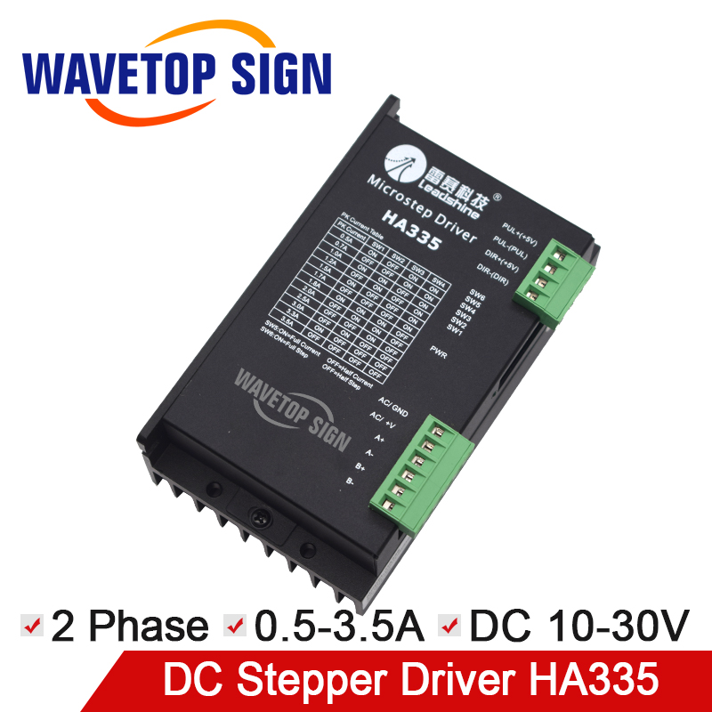 Leadshine stepper driver HA335 2 phase stepper motor drives 30VDC 3.5A Stepping Driver twain m the adventures of tom sawyer