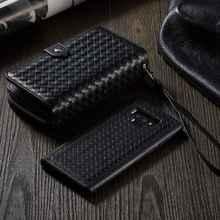 Note9 кожаный чехол-кошелек на молнии с оплеткой для samsung Galaxy Note 9, съемный флип-чехол для samsung Note 8