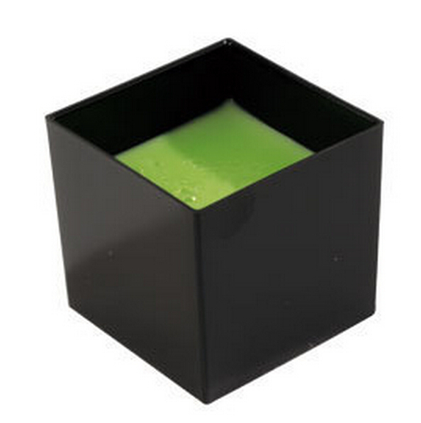 Promotion - Party Suppliers, Disposable <font><b>Plastic</b></font> Tableware, 60ml <font><b>Black</b></font> Mini Dessert Cube <font><b>Cup</b></font>/Bowl, <font><b>20</b></font>/<font><b>Pack</b></font>