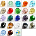 Shipping ~ 4 mm, 6 mm, 8 mm colores de la mezcla de cristal , redondo ,, 5000# Crystal Beads accesorios