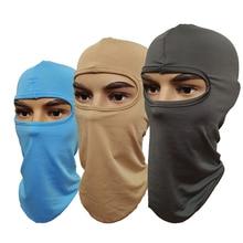 Fashion 1PC Unisex Multifunction Balaclava Full Face Mask Ultra-thin Windproof Sunscreen Ski Neck Elasticity Women Men Hat