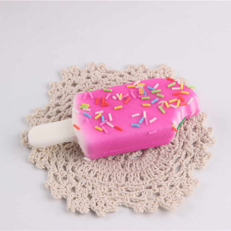 1 Pc Cute Ice Cream Licin Lambat Pemulihan Dekompresi Mainan Gantungan Kunci Ponsel Ponsel Liontin Aroma Mainan Anak Menyenangkan Hadiah Liburan