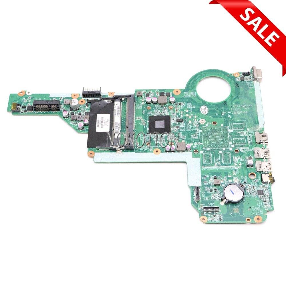 NOKOTION 731534-001 731534-501 For HP Pavilion 17Z-E100 17Z Laptop Motherboard A4-5000 DDR3 DA0R76MB6D0 Main board full testedNOKOTION 731534-001 731534-501 For HP Pavilion 17Z-E100 17Z Laptop Motherboard A4-5000 DDR3 DA0R76MB6D0 Main board full tested