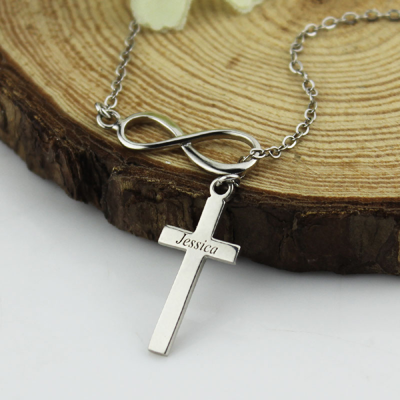 sterling product overstock silver diamond and over orders free shipping on infinity necklace y cross jewelry accent watches