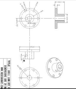 Image 5 - 14mm Key Hub 18011