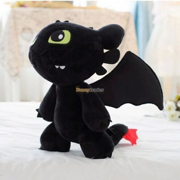 Fancytrader 20'' / 50cm How to Train Your Dragon Giant Lovely Plush Soft Stuffed Toothless Toy, Great Gift, Free ShippingFT50245