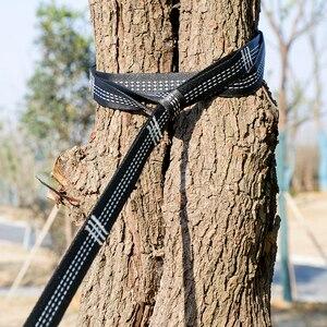 Image 5 - Sangle de hamac Super forte accrochant la ceinture de hamac Acehmks pour camper, voyager, corde accrochante portative darbre 300X2.5 CM 440g