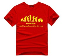 """Evolution"" Something, somewhere went terrible wrong t-shirt – 10 Colors"