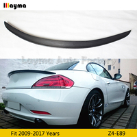 3D style Carbon Fiber rear trunk spoiler For BMW Z4 E89 sDrive20i 23i 28i 30i 35i 2009 2017 year Z4 3D styling Car spoiler Wing