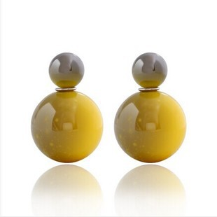 New Fashion Big Pearl Earrings For Women beads statement earring jewelry 2014 b2hfb5D ABC