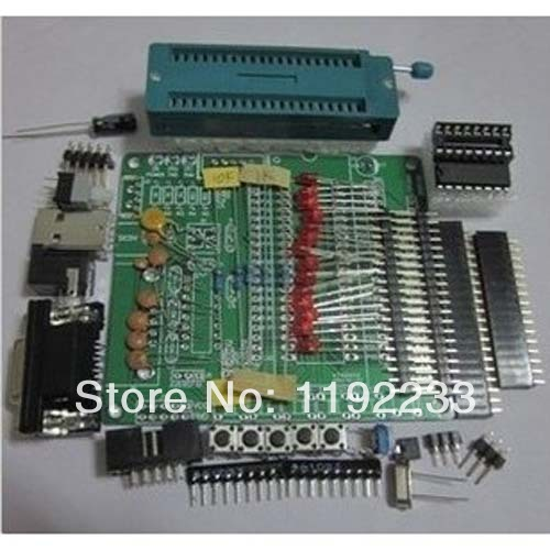 DIY Learning Board Kit STC89C52 51/AVR MCU Development Board/Learning Board Spare Parts