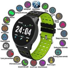 Купить с кэшбэком LIGE New Smart Watch Men Fitness Tracker Fashion Sports Watch Pedometer Heart Rate Blood Pressure Monitor For IOS Android+Box