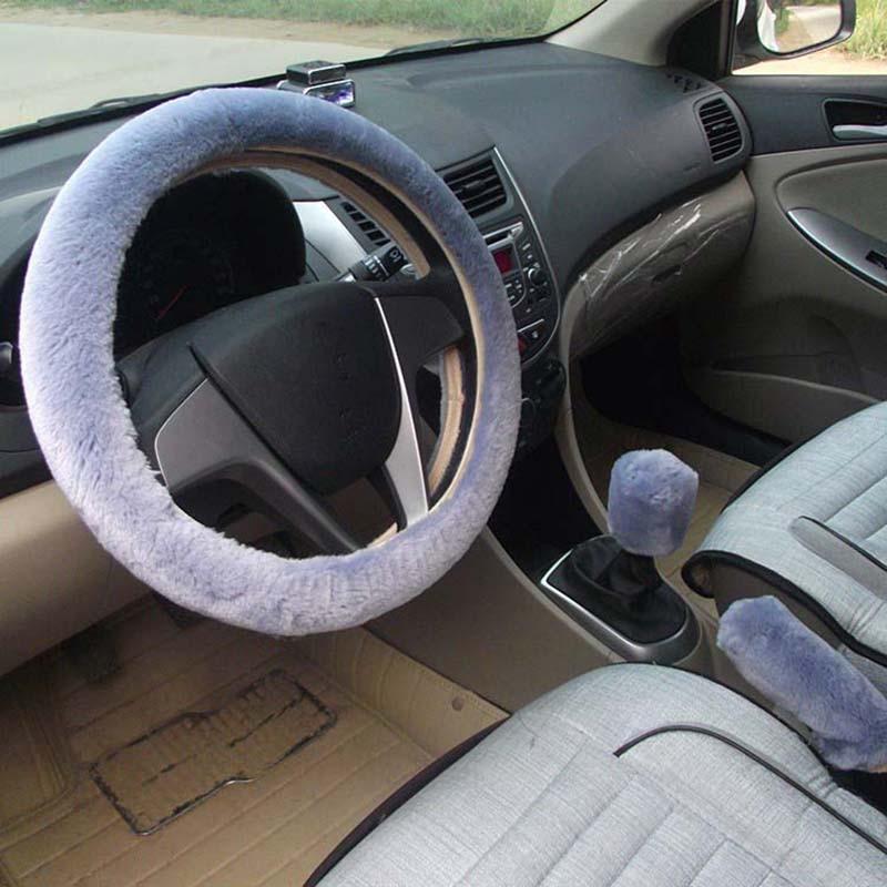 KKYSYELVA Қысқы автомобиль рульдік - Автокөліктің ішкі керек-жарақтары - фото 6