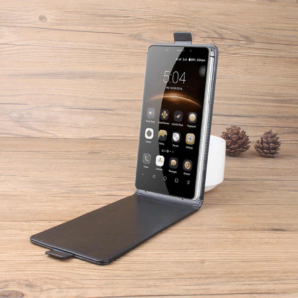 עור מקרה עבור Leagoo M8/M8 פרו Flip כיסוי דיור עבור Leagoo M 8 פרו/M8Pro נייד טלפון עטיפות טלפון שקיות Fundas