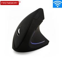 Drahtlose Maus Ergonomische Vertikale Maus 5D 1600 DPI Bunte LED Computer Gaming Mäuse Mause Mit Maus Pad Kit Für PC laptop