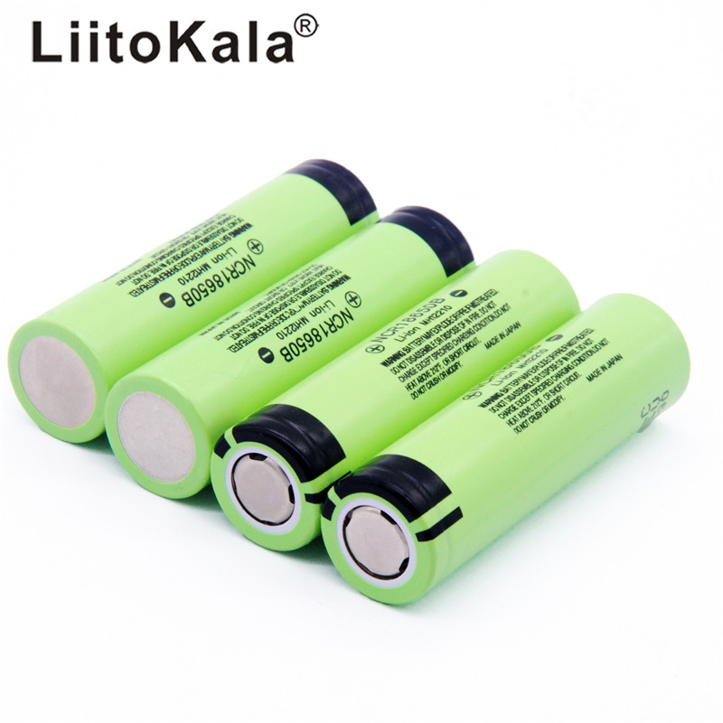 Hot 4pcs LiitoKala new original NCR18650B 34B 3.7V 18650 3400mAh rechargeable lithium battery for  flashlight battery|lithium battery|battery forbattery battery battery - AliExpress