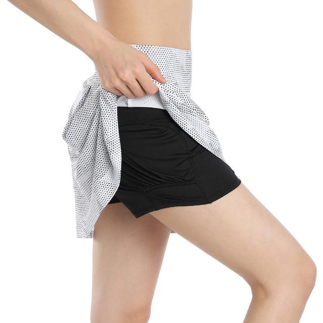 EAST HONG Women's Golf Tennis Running Sports Skirts Beach Swimming Skirts