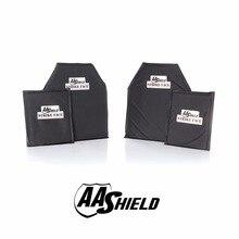 AA Shield Ballistic Body Armor Plate Bulletproof Aramid Sofe Panel NIJ Lvl IIIA Stab Resistand Plate Level II 10×12#2 6×8 Kit