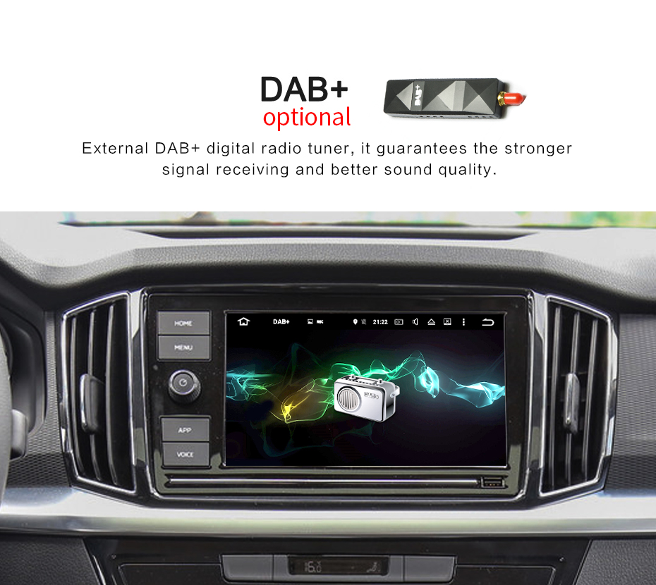 Car Multimedia Player DAB+