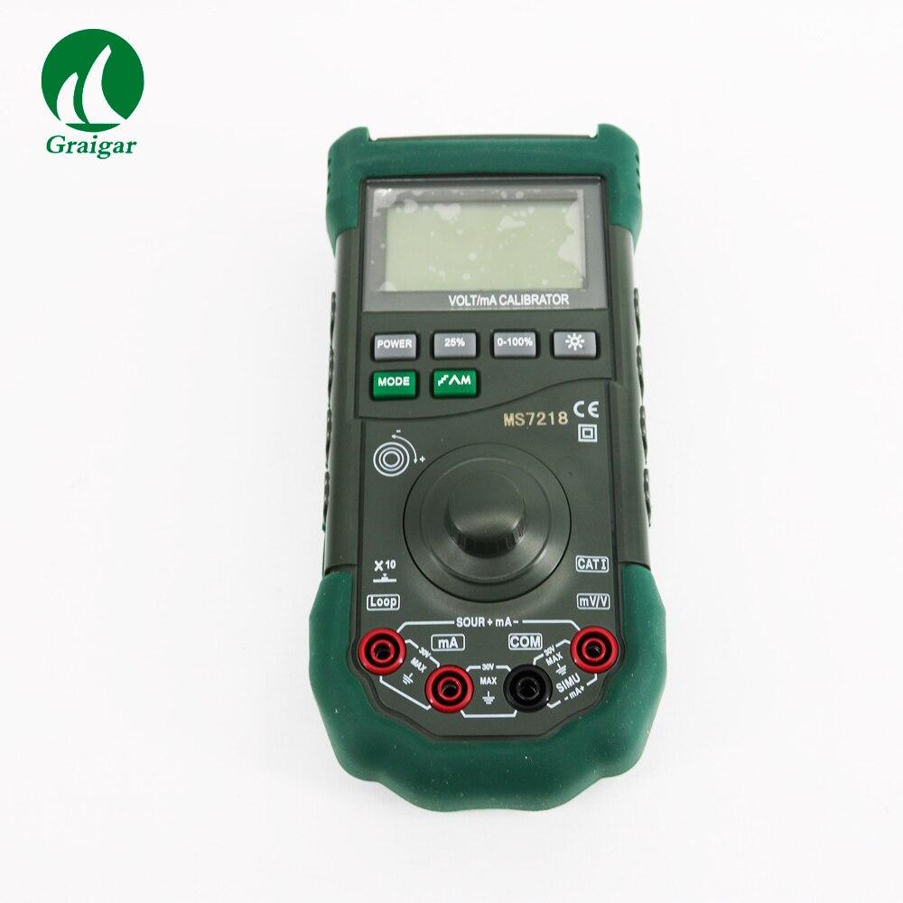 d08e11e90f MS7218 Volt/mA Calibratore Volt mA Calibratore di Processo Digitale  Portatile 0.02% accuratezza