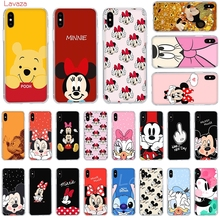 Lavaza Lovely Minnie Mickey Hard Phone Case for Apple iPhone 6 6s 7 8 Plus X 5 5S SE for iPhone XS Max XR Cover lavaza call me by your name hard phone case for apple iphone 6 6s 7 8 plus x 5 5s se for iphone xs max xr cover