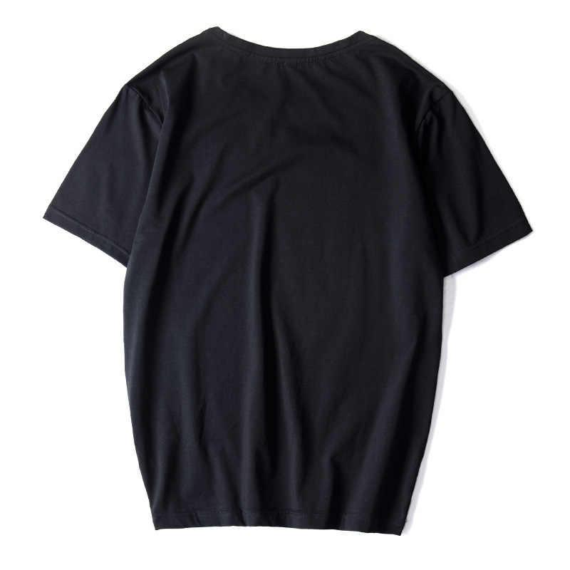 Camisetas informales de alta calidad negro blanco rojo para hombres, camisetas de moda 2020, camisetas HIP HOP holgadas Plus OVERSize L-6XL 7XL 8XL 9XL