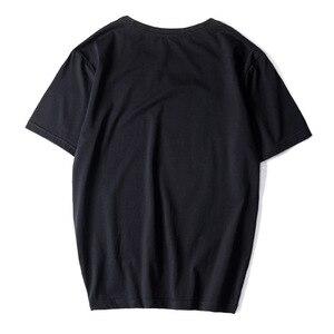 Image 3 - Camisetas informales de alta calidad para hombre, camisetas a la moda en negro, blanco y rojo, camisetas holgadas de estilo HIP HOP de gran tamaño L 6XL 7XL 8XL 9XL, 2020