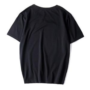 Image 3 - Casual Top Quality BLACK WHITE RED Mens T shirts Fashion 2020 Tshirt Tees HIP HOP LOOSE Plus OVERSize L 6XL 7XL 8XL 9XL