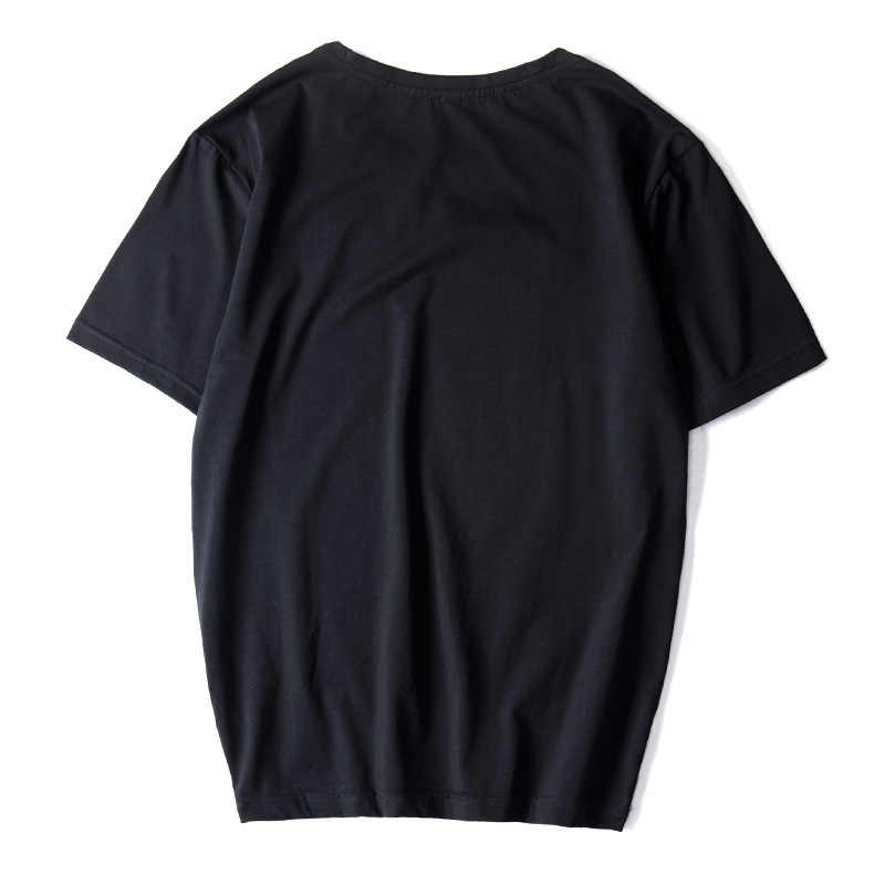 Top Kualitas Mens T Shirt Fashion 2019 Tren Tshirt Tees Plus Ukuran Asia L-6XL 7XL 8XL 9XL