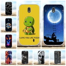 все цены на For Nokia 1 Protective Case Ultra Thin Soft TPU Silicone For Nokia 1 Phone Cover Cute Animal Patterned For Nokia 1 Bumper Shell