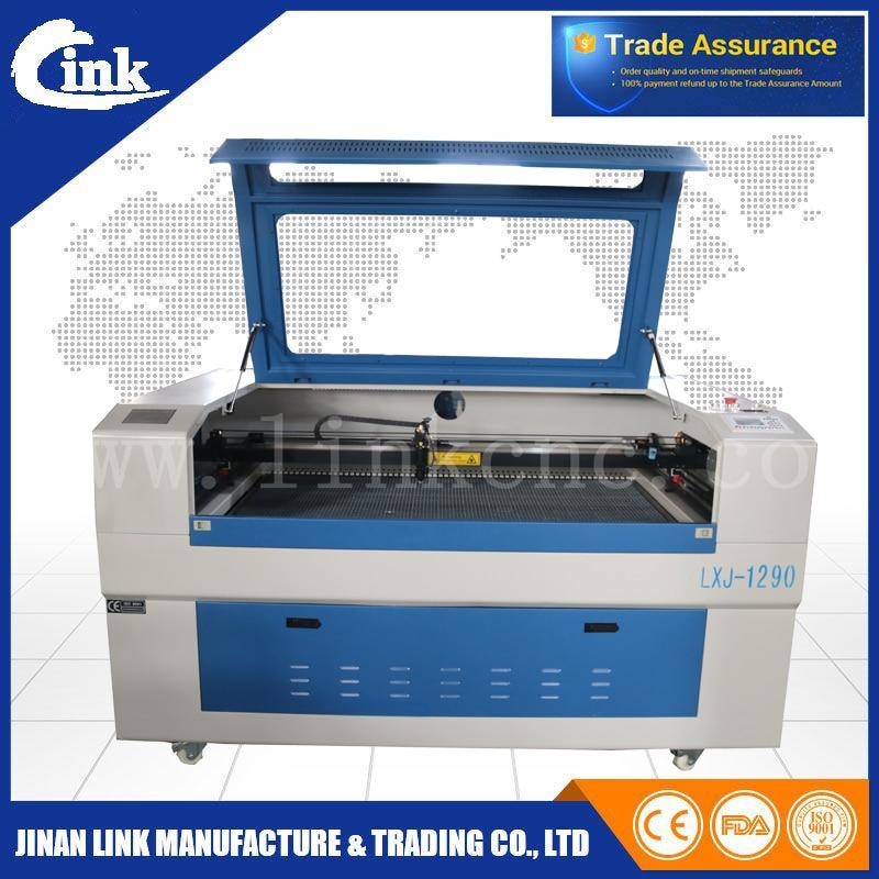 Jinan Golden Machinery Equipment Co Ltd Mail: Gold Quality LXJ1290(2 Years Warranty) Fabric Laser