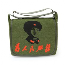 Lei Feng Shoulder Bag Chinese Style Nostalgia Canvas Messenger Bag Men And Women Fashion Leisure Or Travel Bag personality Bag все цены