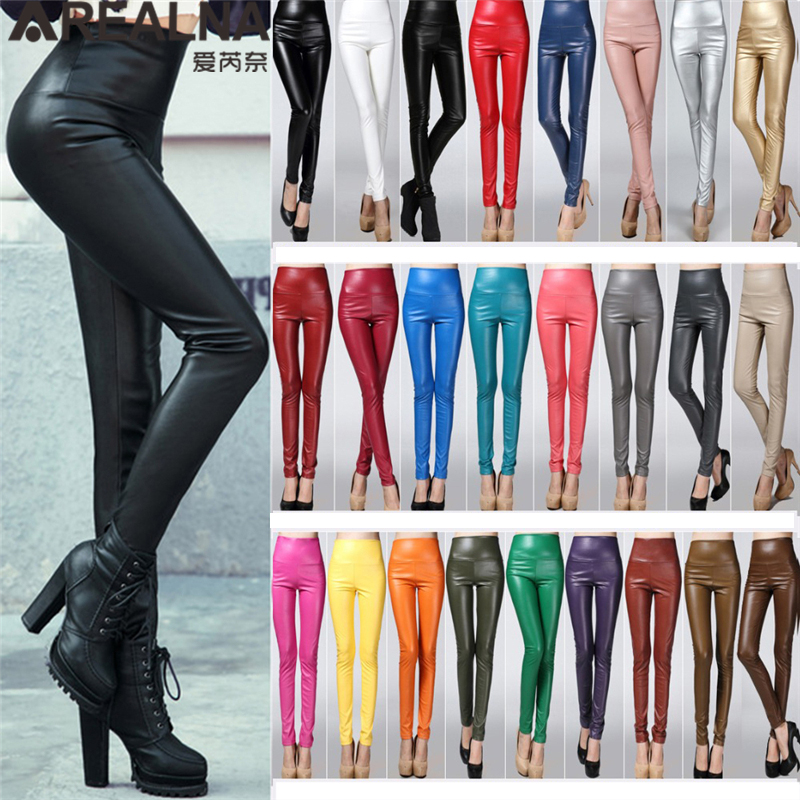 dc63145e1 best top 10 womens high waist leather trousers leggings ideas and ...