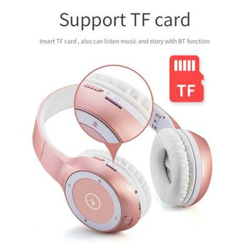 T8 Bluetooth 4.2 Sports Headphone Stereo HIFI Earphone MP3 Wireless Headset Support TF Card with 900 mAh Large Battary